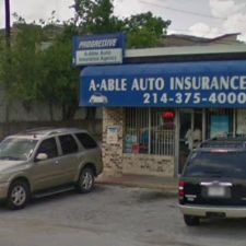 Able Auto Insurance >> A Able Auto Insurance Agency 1435 E Kiest Blvd A Dallas