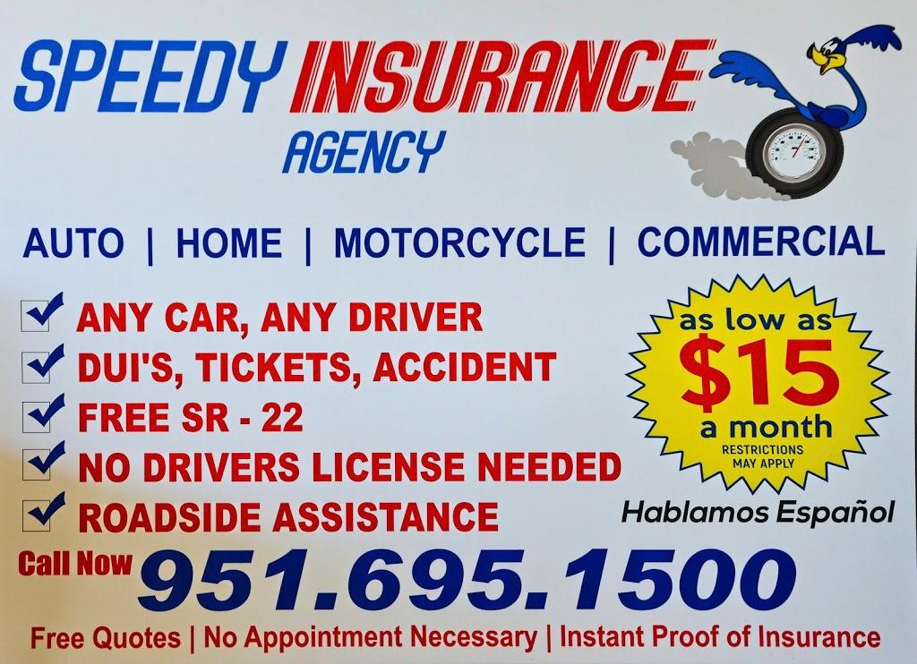 Speedy Insurance Agency | 2995 Van Buren Boulevard Ste A7