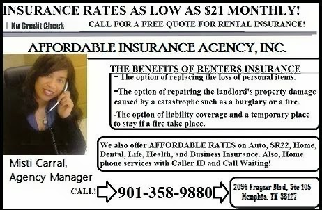 Affordable Insurance | insurance agency | 2094 Frayser Blvd, Memphis, TN 38127, USA | 9013589880 OR +1 901-358-9880