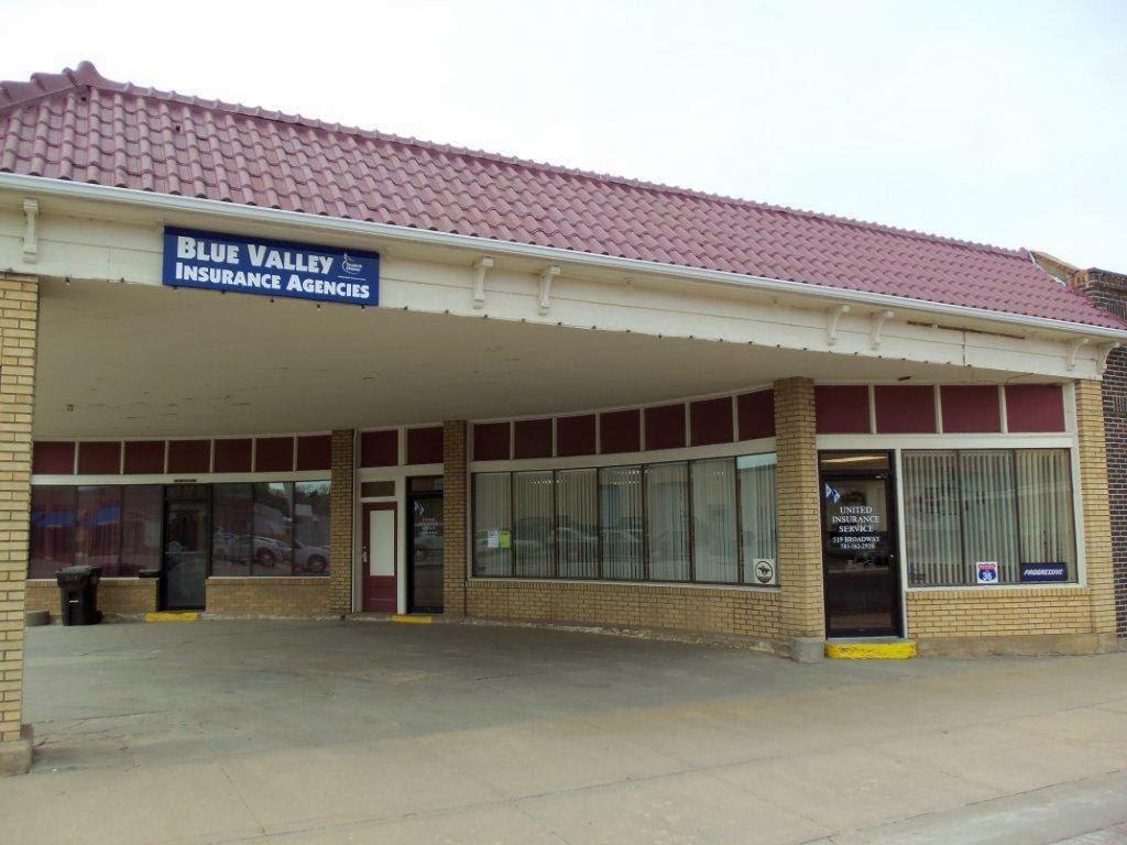 Blue Valley Insurance Agencies Inc. | insurance agency | 519 Broadway St, Marysville, KS 66508, USA | 7855624310 OR +1 785-562-4310