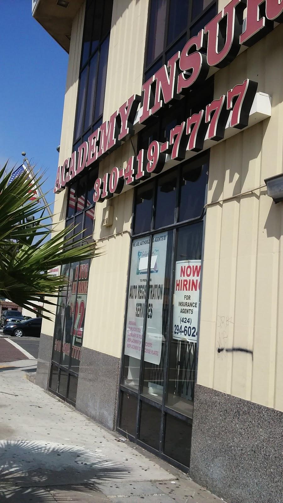 Academy Insurance | insurance agency | 170 South La Brea Ave, Inglewood, CA 90301, USA | 3104197777 OR +1 310-419-7777