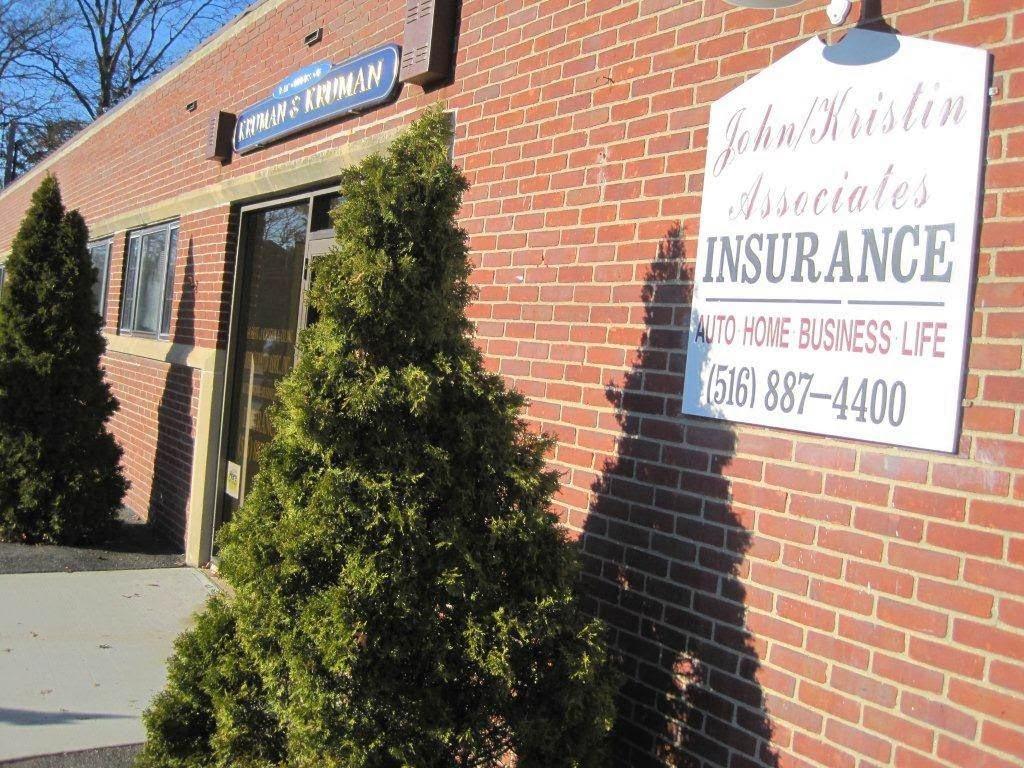John Kristin Associates Inc | insurance agency | 353 Hempstead Ave #2, Malverne, NY 11565, USA | 5168874400 OR +1 516-887-4400