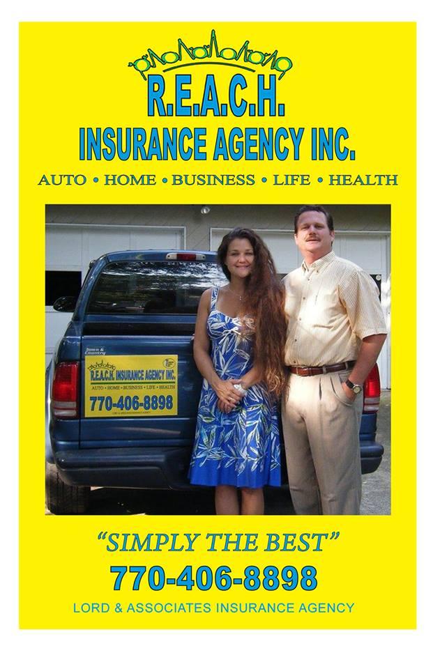 R.E.A.C.H. Insurance Agency Inc. | insurance agency | 353 Canton Rd, Cumming, GA 30040, USA | 7704068898 OR +1 770-406-8898