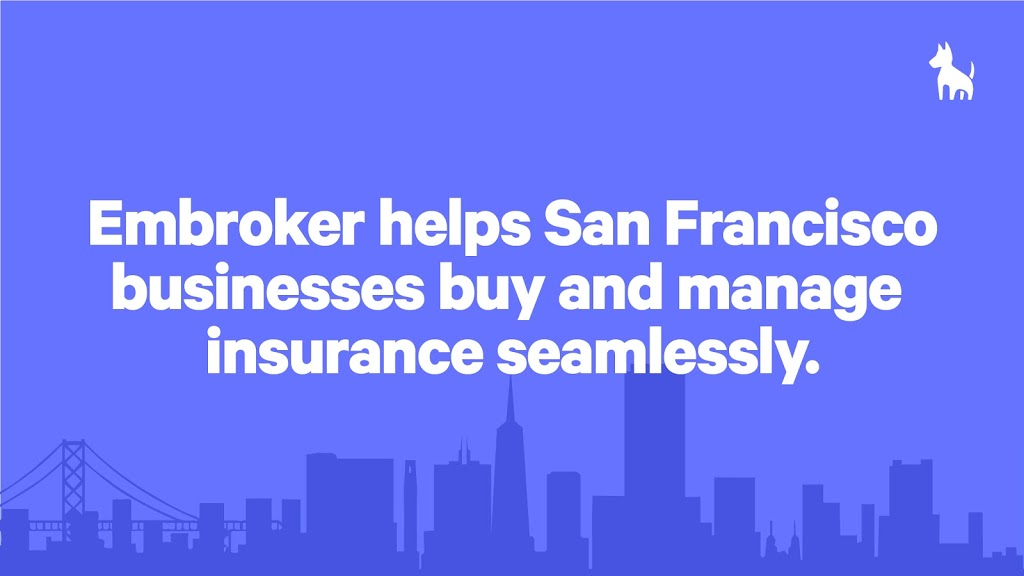 Embroker | insurance agency | 24 Shotwell St, San Francisco, CA 94103, USA | 8444362765 OR +1 844-436-2765