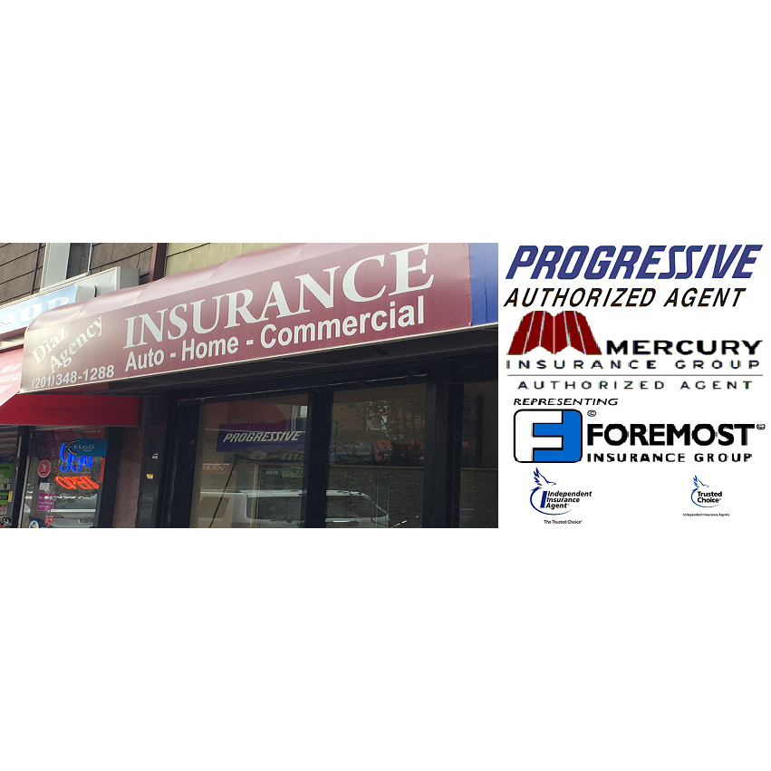 Diaz Insurance Agency | insurance agency | 815 Bergenline Ave, Union City, NJ 07087, USA | 2013481288 OR +1 201-348-1288