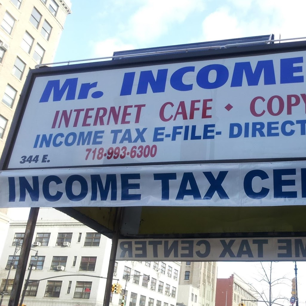 Mr Income Tax | insurance agency | 344 E 149th St, The Bronx, NY 10451, USA | 7189936300 OR +1 718-993-6300