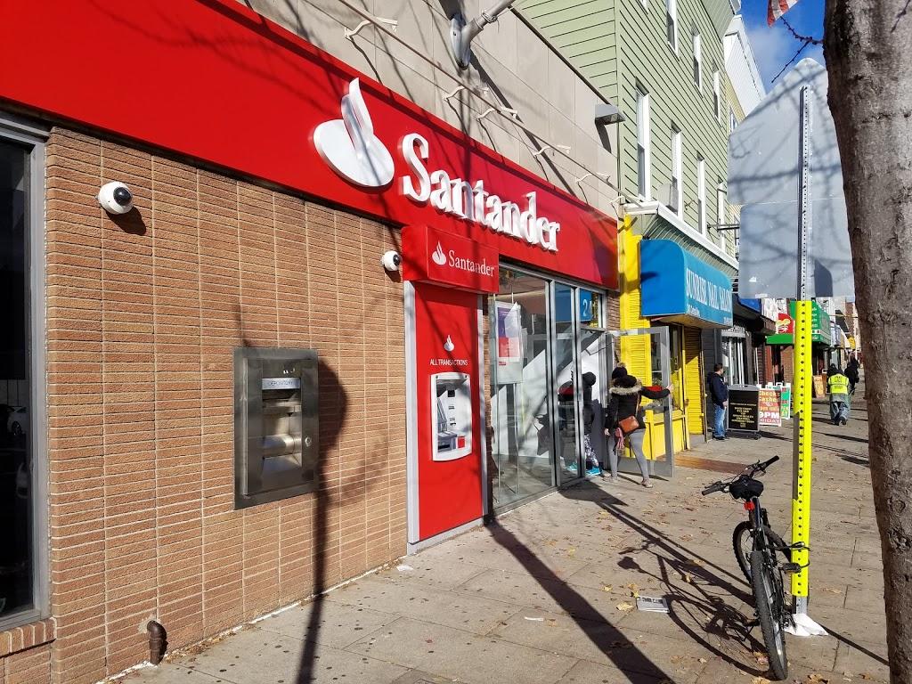 Santander Bank ATM | insurance agency | 241 Central Ave, Jersey City, NJ 07307, USA | 2017957742 OR +1 201-795-7742