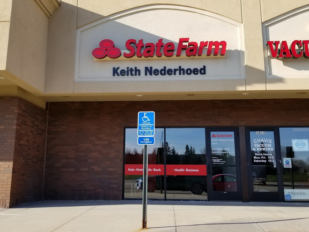 Keith Nederhoed - State Farm Insurance Agent | insurance agency | 1008 County Rd 42 E, Burnsville, MN 55337, USA | 9528946404 OR +1 952-894-6404