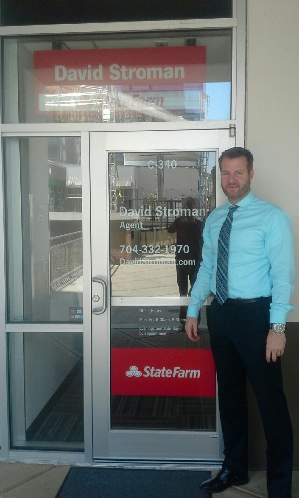 David Stroman - State Farm Insurance Agent | insurance agency | 210 E Trade St Suite C-340, Charlotte, NC 28202, USA | 7043321970 OR +1 704-332-1970