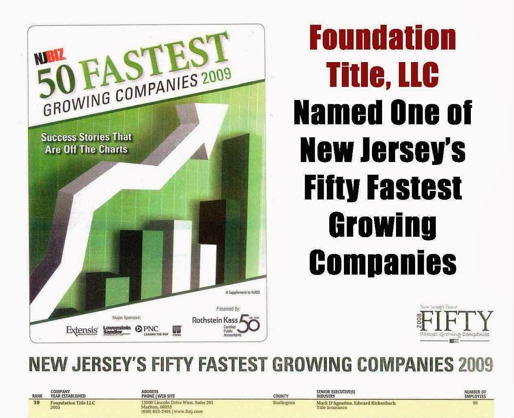 Foundation Title, LLC - Eatontown | insurance agency | 234 Industrial Way W Building A, 2nd Floor, Eatontown, NJ 07724, USA | 7323894571 OR +1 732-389-4571