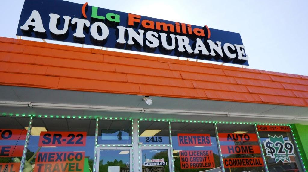La Familia Auto Insurance | insurance agency | 2415 Azle Ave, Fort Worth, TX 76106, USA | 9726467015 OR +1 972-646-7015