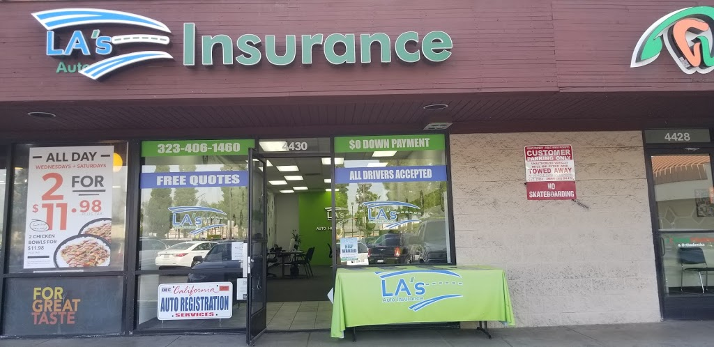 LAs Auto Insurance | insurance agency | 4430 E Slauson Ave, Maywood, CA 90270, USA | 3234061460 OR +1 323-406-1460