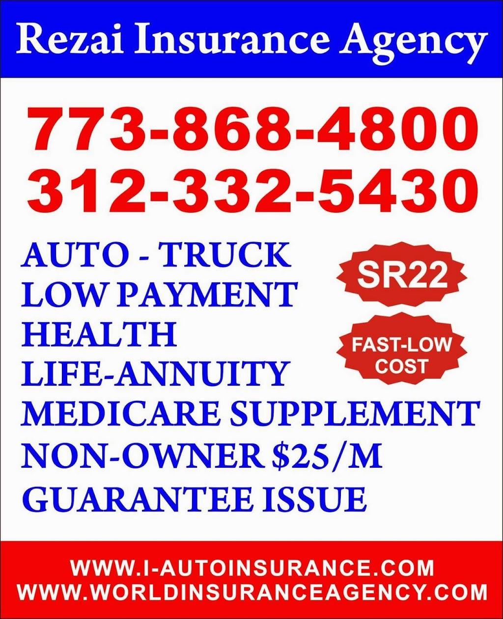Rezai Insurance Agency | insurance agency | 441 W Fullerton Pkwy, Chicago, IL 60614, USA | 3123325430 OR +1 312-332-5430