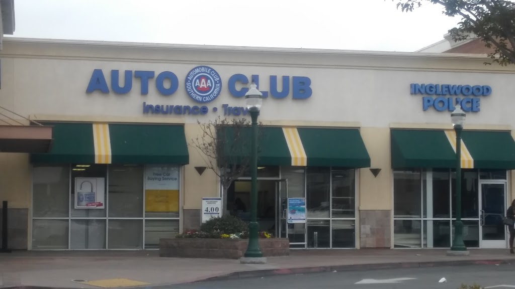 AAA - Automobile Club of Southern California | insurance agency | 3372 W Century Blvd, Inglewood, CA 90303, USA | 3237571770 OR +1 323-757-1770