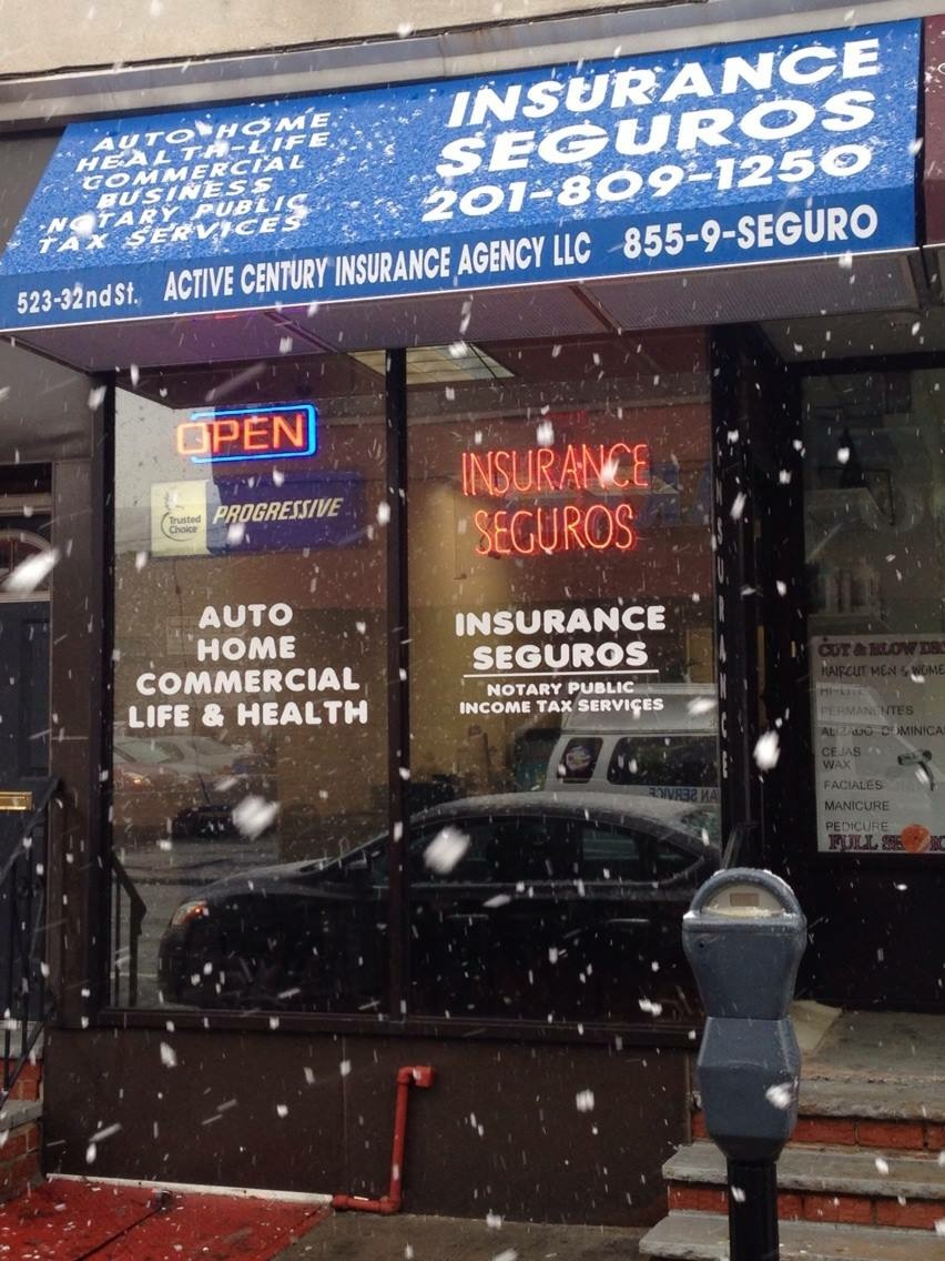 Active Century Insurance Agency | insurance agency | 523 32nd St, Union City, NJ 07087, USA | 2018655300 OR +1 201-865-5300