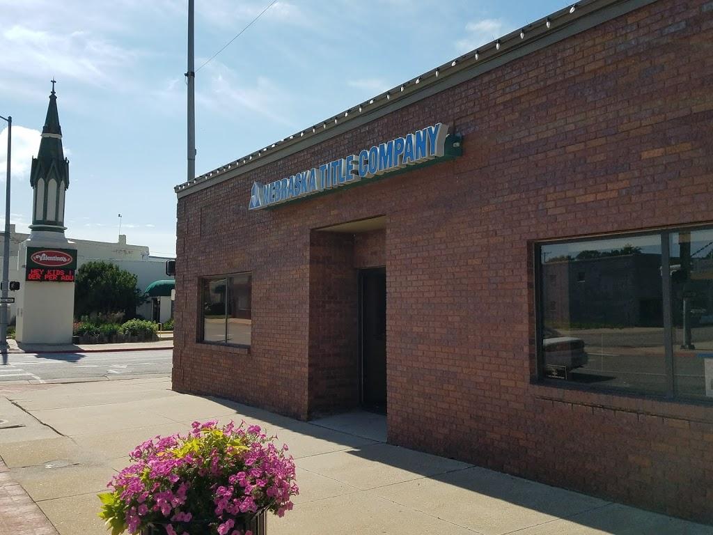Nebraska Title Company | insurance agency | 629 Court St, Beatrice, NE 68310, USA | 4022282233 OR +1 402-228-2233