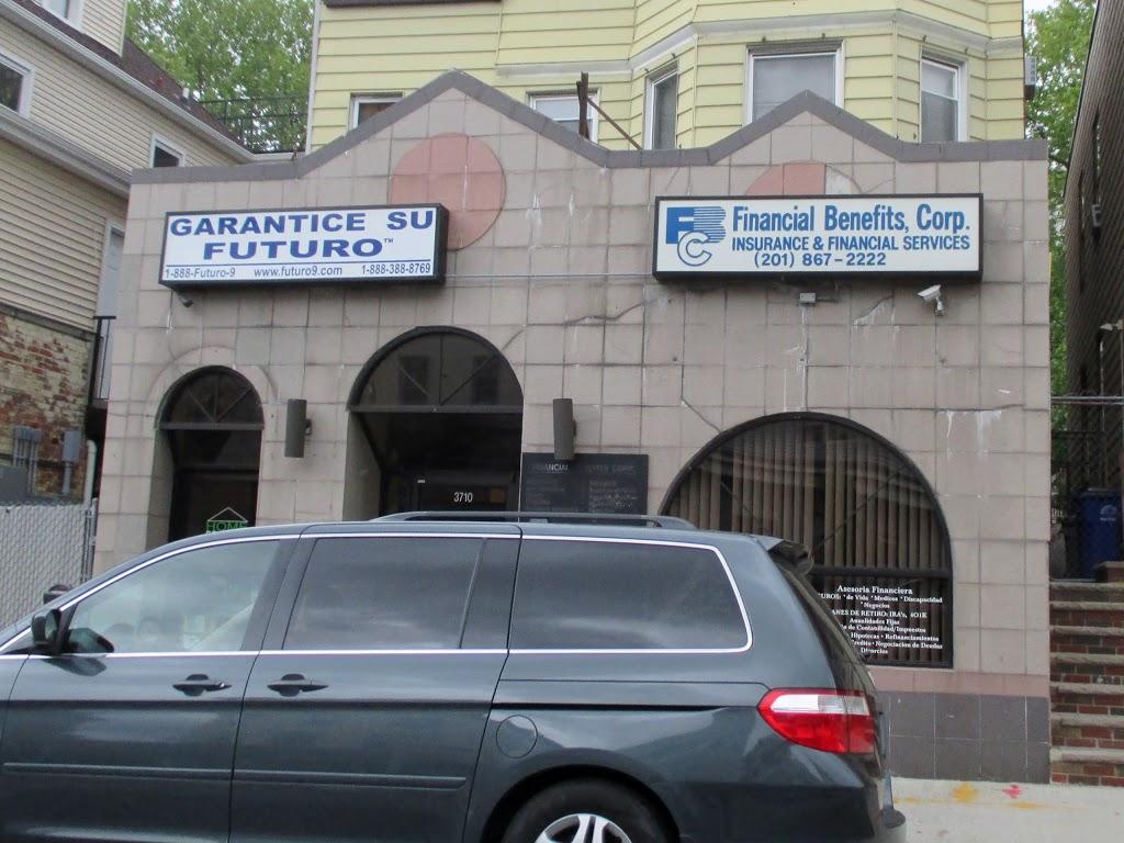 Financial Benefits Corporation | insurance agency | 3710 John F. Kennedy Blvd, Union City, NJ 07087, USA | 2018672222 OR +1 201-867-2222