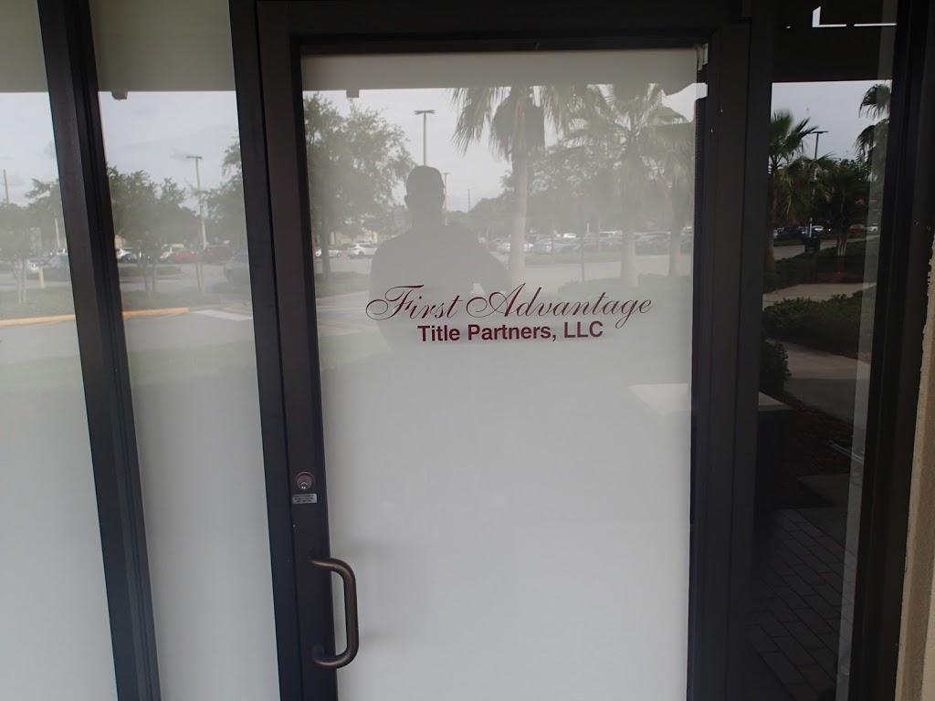 First Advantage Title Partners | insurance agency | 59 Alafaya Woods Blvd, Oviedo, FL 32765, USA | 4079772800 OR +1 407-977-2800
