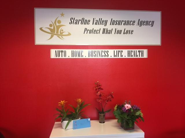 StarOne Valley Insurance Agency | insurance agency | 598 E Santa Clara St #205, San Jose, CA 95112, USA | 4087091177 OR +1 408-709-1177