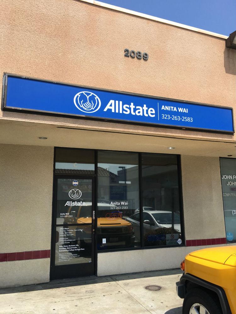 Anita Wai: Allstate Insurance | insurance agency | 2089 S Atlantic Blvd Ste C, Monterey Park, CA 91754, USA | 3232632583 OR +1 323-263-2583