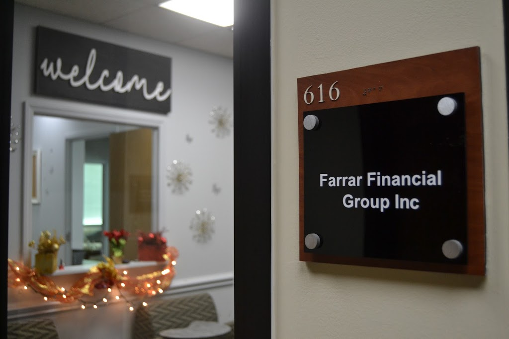 Farrar Financial Group | insurance agency | 4801 E Independence Blvd Suite 616, Charlotte, NC 28212, USA | 7045376500 OR +1 704-537-6500