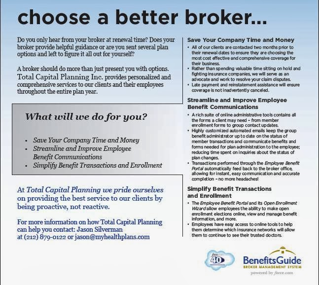 Total Capital Planning Inc | insurance agency | 490 E 74th St, New York, NY 10021, USA | 2128790122 OR +1 212-879-0122