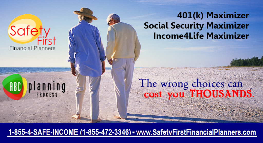 Safety First Financial Planners, LLC | insurance agency | 33 Main St #201, Nashua, NH 03064, USA | 6038818811 OR +1 603-881-8811