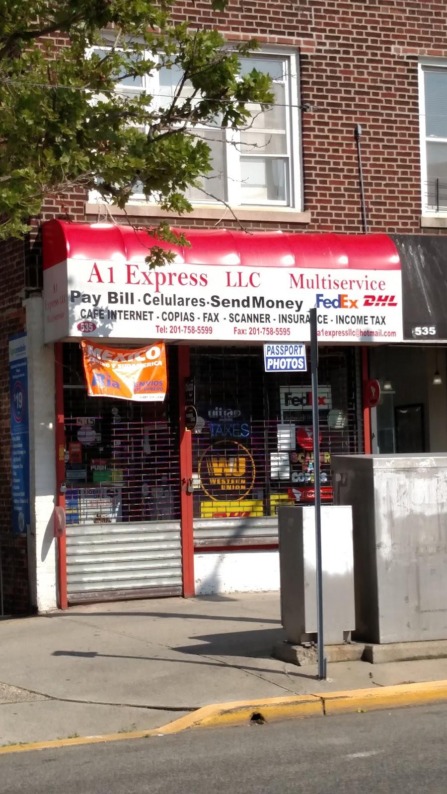 A1EXPRESSllC MUlTiSerVice | insurance agency | 535 John F. Kennedy Blvd, North Bergen, NJ 07047, USA | 2016816201 OR +1 201-681-6201