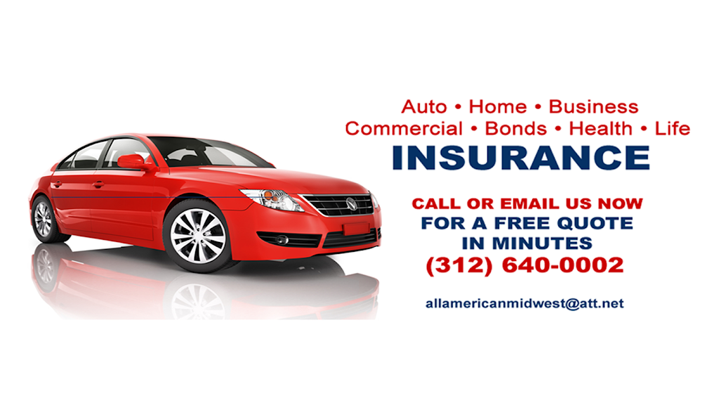 All American Midwest Insurance Brokers, INC. | insurance agency | 1133 N Dearborn St #2204, Chicago, IL 60610, USA | 3126400002 OR +1 312-640-0002