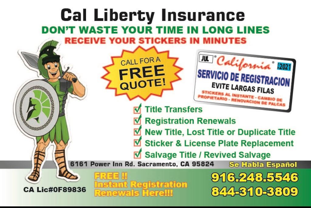 Cal Liberty Insurance - Insurance agency | 6161 Power Inn Rd