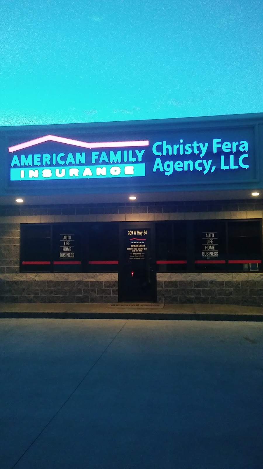 American Family Insurance - Christy Fera Agency LLC | insurance agency | 309 US-54, Camdenton, MO 65020, USA | 5733464515 OR +1 573-346-4515
