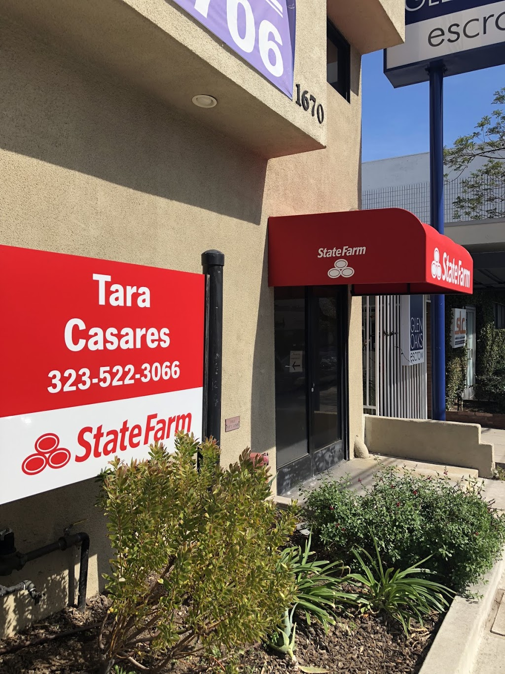 Tara Casares - State Farm Insurance Agent | insurance agency | 1670 Hillhurst Ave #102, Los Angeles, CA 90027, USA | 3235223066 OR +1 323-522-3066