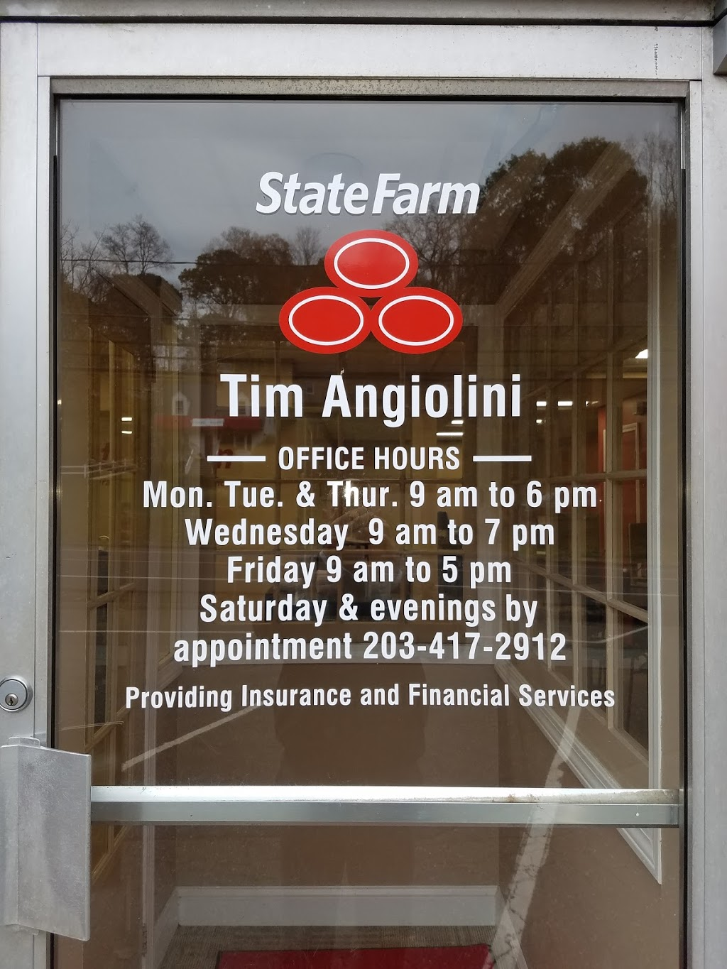 State Farm: Tim Angiolini | insurance agency | 756 Thomaston Rd, Watertown, CT 06795, USA | 8604172912 OR +1 860-417-2912
