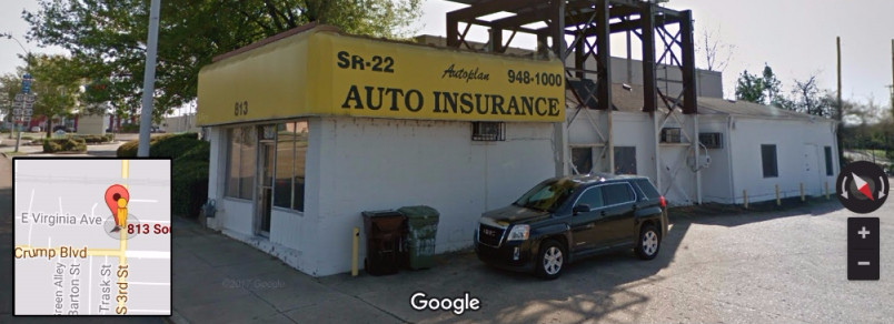 Autoplan Auto Insurance | insurance agency | 813 South B.B. King Boulevard, Memphis, TN 38106, USA | 9019481000 OR +1 901-948-1000