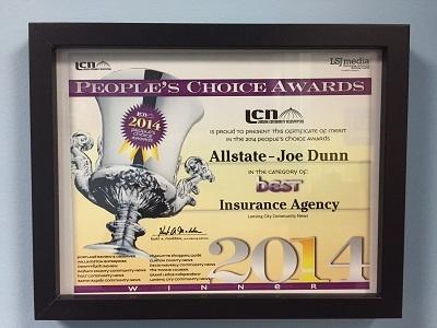 Joseph Dunn: Allstate Insurance | insurance agency | 248 E Saginaw St, East Lansing, MI 48823, USA | 5173338500 OR +1 517-333-8500