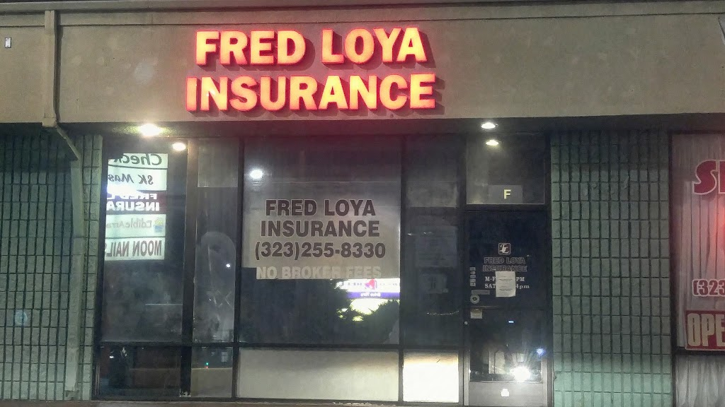 Fred Loya Insurance | insurance agency | 6100 N Figueroa St unit f, Los Angeles, CA 90042, USA | 3232558330 OR +1 323-255-8330