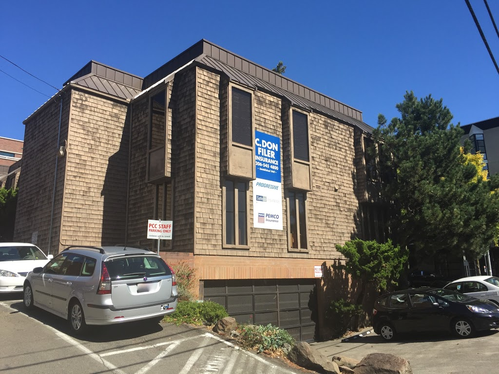 C. Don Filer Agency   insurance agency   4201 Roosevelt Way NE #200, Seattle, WA 98105, USA   2065454800 OR +1 206-545-4800