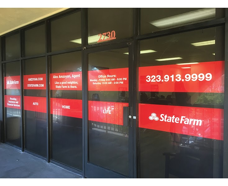 Alex Amzoyan - State Farm Insurance Agent | insurance agency | 2730 Griffith Park Blvd, Los Angeles, CA 90027, USA | 3239139999 OR +1 323-913-9999