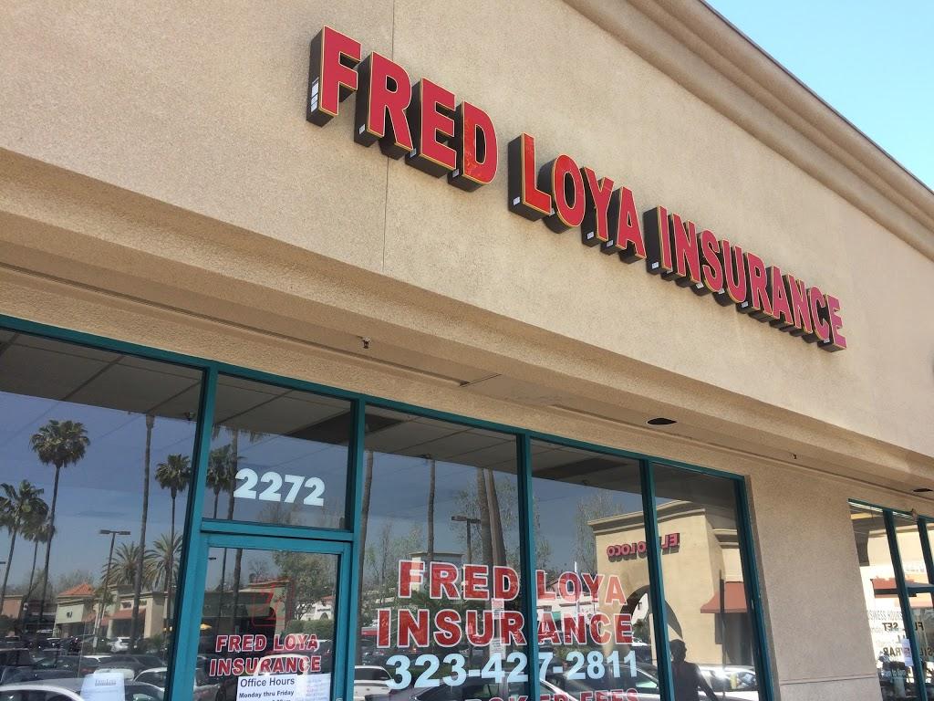 Fred Loya Insurance   insurance agency   2272 S Atlantic Blvd, Monterey Park, CA 91754, USA   3234272811 OR +1 323-427-2811
