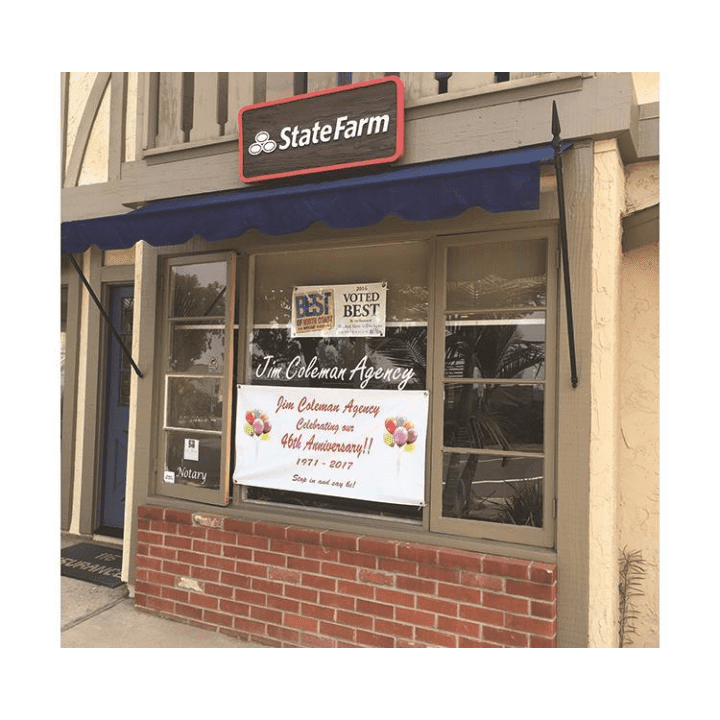 Jim Coleman - State Farm Insurance Agent   insurance agency   1011 Camino Del Mar Ste 116, Del Mar, CA 92014, USA   8587556794 OR +1 858-755-6794