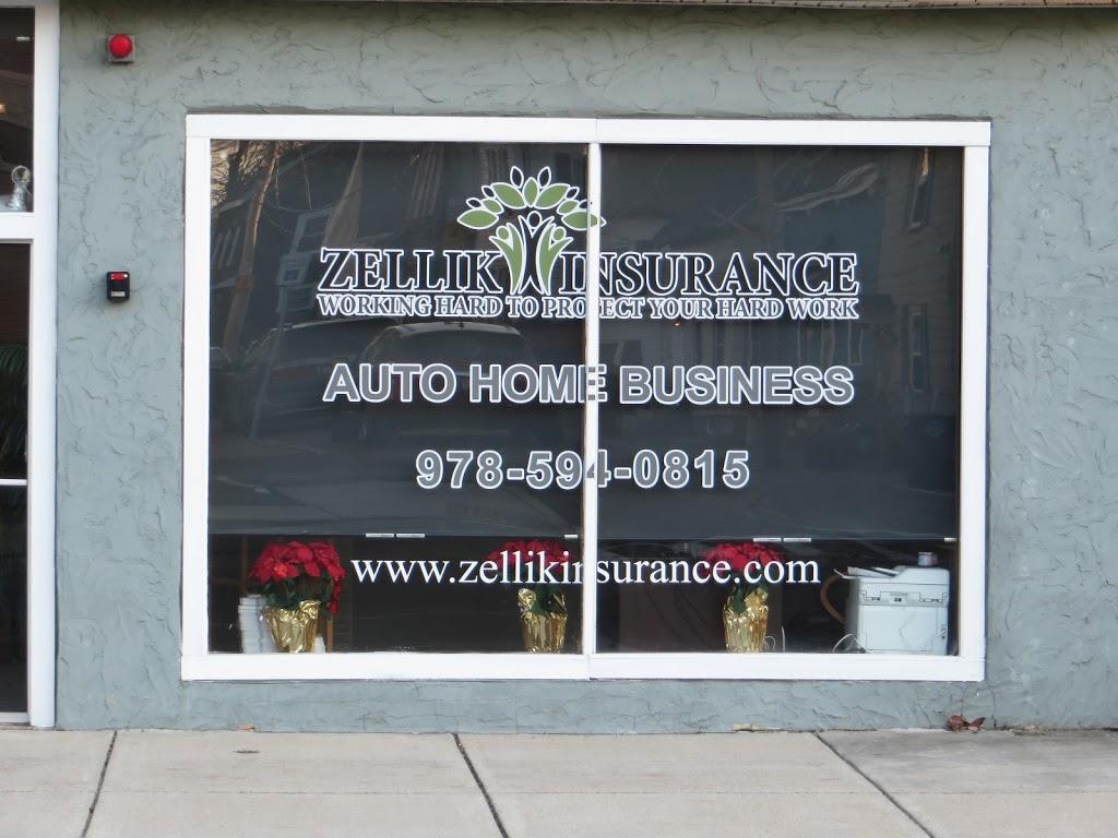 Zellik Insurance Agency, Inc. | insurance agency | 37 Bridge St, Salem, MA 01970, USA | 9785940815 OR +1 978-594-0815
