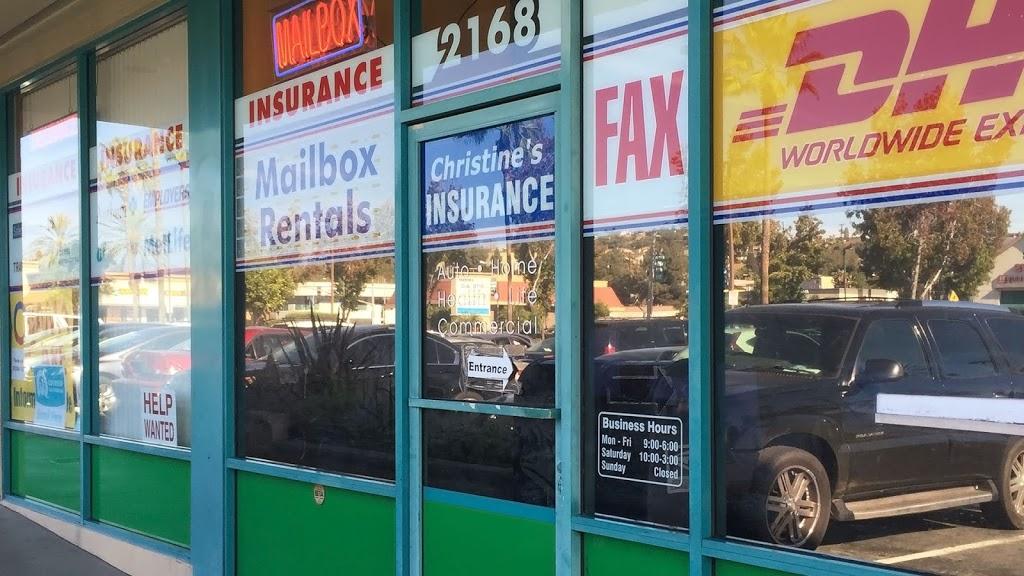 Christine Insurance Agency | insurance agency | 2168 S Atlantic Blvd, Monterey Park, CA 91754, USA | 3238881331 OR +1 323-888-1331