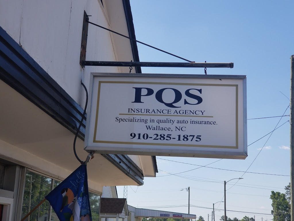 PQS Insurance Agency | insurance agency | 414 N Norwood St Suite A, Wallace, NC 28466, USA | 9102851875 OR +1 910-285-1875