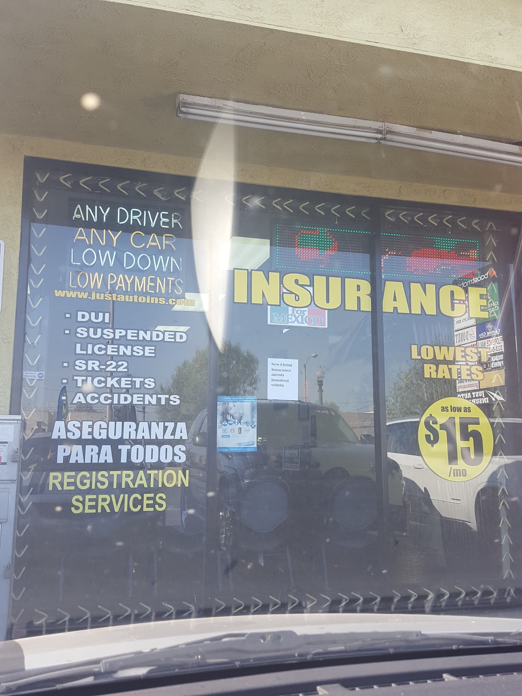 Just Auto | insurance agency | 1250 E Florence Ave, Los Angeles, CA 90001, USA | 3239830968 OR +1 323-983-0968