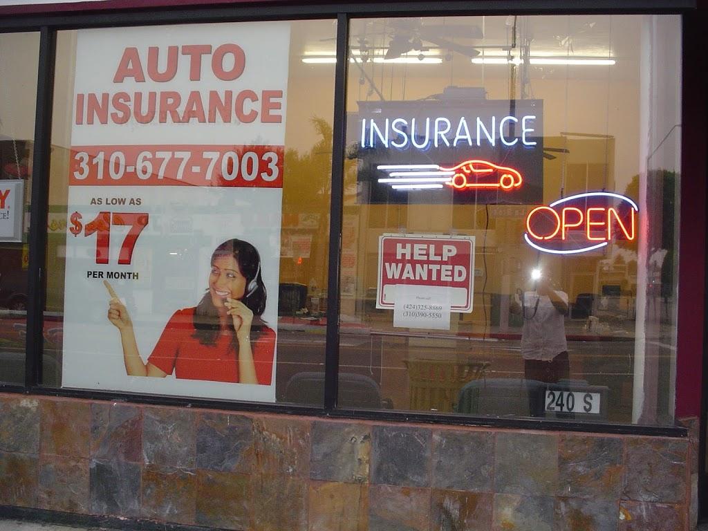 Kanary Insurance Agency   insurance agency   240 South La Brea Ave, Inglewood, CA 90301, USA   3106777013 OR +1 310-677-7013