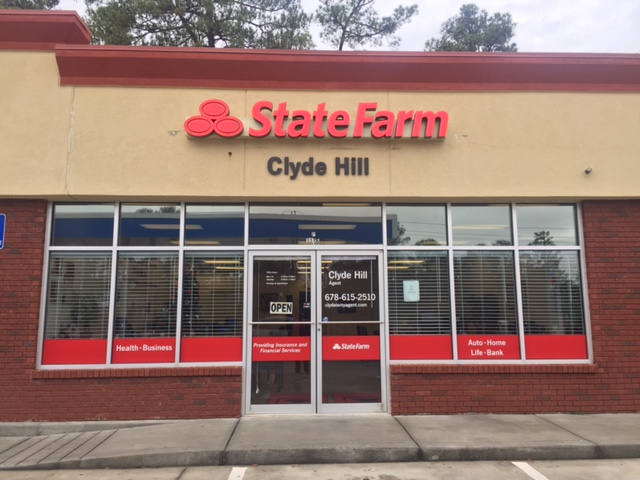 State Farm: Clyde Hill   insurance agency   1115 Rock Chapel Rd Ste C, Lithonia, GA 30058, USA   6786152510 OR +1 678-615-2510