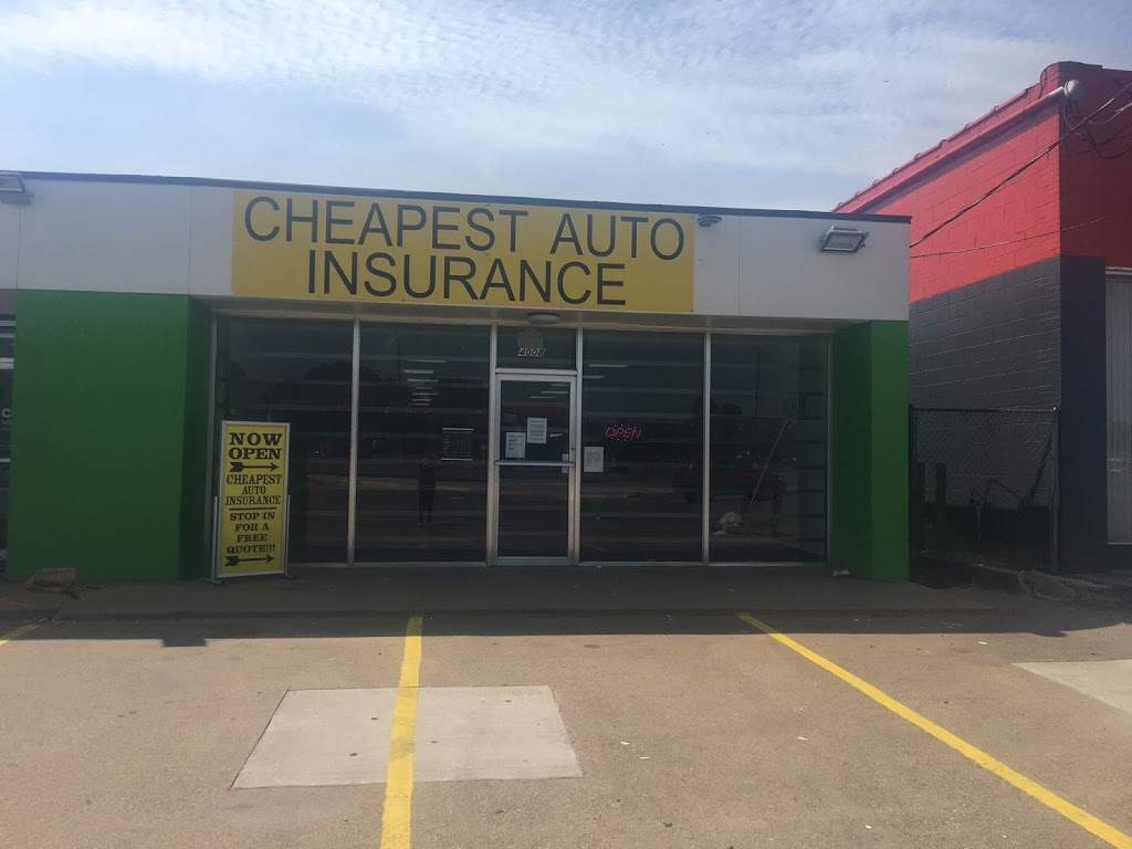 Cheapest Auto Insurance | insurance agency | 4008 E Belknap St, Haltom City, TX 76111, USA | 8178384296 OR +1 817-838-4296