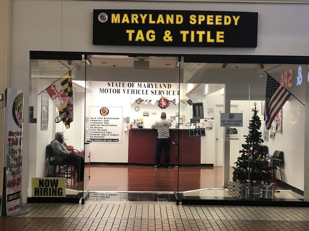 Maryland Speedy Tag & Title | insurance agency | 6901 Security Blvd, Windsor Mill, MD 21244, USA | 4102778900 OR +1 410-277-8900