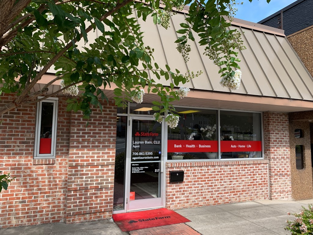 State Farm: Lauren Bain   insurance agency   217 Chickamauga Ave, Rossville, GA 30741, USA   7068615395 OR +1 706-861-5395